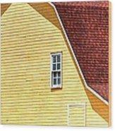 American Barn 14601 Wood Print