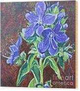 American Bellflower Wood Print