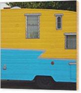 American Camper Series No.1 Wood Print