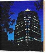American Century Tower 1 Wood Print
