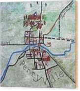 American Civil War Town - Perryville Ky Wood Print