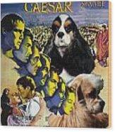 American Cocker Spaniel Art - Julius Caesar Movie Poster Wood Print
