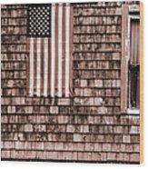 American Colors Of Maine Wood Print