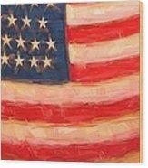 American Colours Wood Print