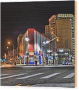 American Coney Island Detroit Mi Wood Print