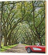 American Dream Drive Wood Print
