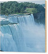 American Falls Niagara Falls Ny Usa Wood Print
