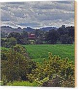 American Farmland 2 Wood Print
