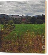 American Farmland Wood Print