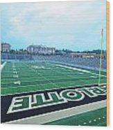 American Football Stadium Wood Print