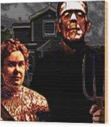 American Gothic Resurrection - Version 2 Wood Print