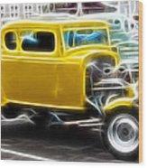 American Grafitti Coupe Wood Print