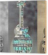 American Guitars 5 Wood Print