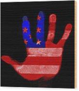 American Hand Wood Print