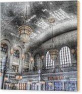 American Haunting Union Station Denver Colorado Wood Print