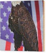 American Honor Wood Print