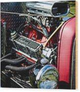 American Hotrod Wood Print