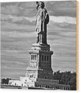 American Icon Wood Print