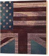 American Jack I Wood Print by April Moen