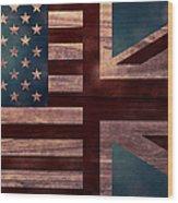 American Jack II Wood Print by April Moen