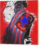 American Justice Wood Print