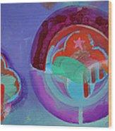 American Landscape 2 Wood Print