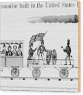 American Locomotive, 1830 Wood Print