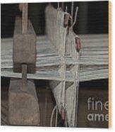 American Loom 3 Of 3 Wood Print