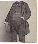 American Man, 1860s Wood Print