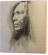 American Man Wood Print