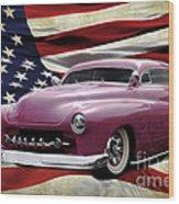 American Merc Wood Print
