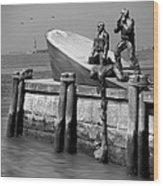 American Merchant Mariners Memorial Wood Print by Mike McGlothlen