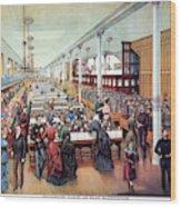 American Millinery, C1885 Wood Print
