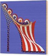 American Mule Wood Print