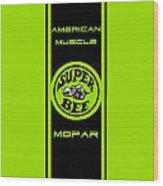 American Muscle - Mopar II Wood Print