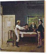 American Politicians, 1844 Wood Print