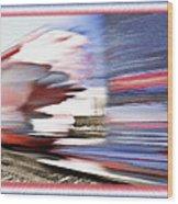 American Rail Wood Print