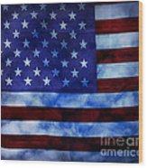 American Sky Wood Print