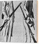 American Uniforms, 1784 Wood Print