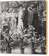 American Wedding, 1900 Wood Print