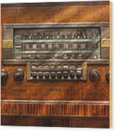 Americana - Radio - Remember What Radio Was Like Wood Print