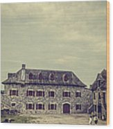 Fort Ticonderoga Wood Print
