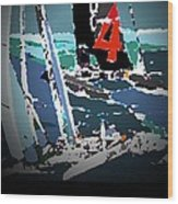 America's Cup 2013 Poster Wood Print