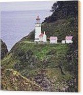 America's Favorite Lighthouse Wood Print