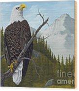 America's Pride Wood Print