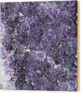 Amethyst Geode II Wood Print