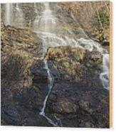 Amicalola Falls  Rainbow Wood Print