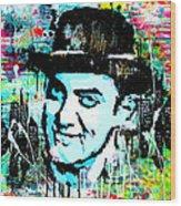 Amir Khan Dhoom 3 Pop Art By Minesh Pankhania Wood Print