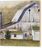Amish Barn Wood Print