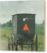 Amish Wood Print